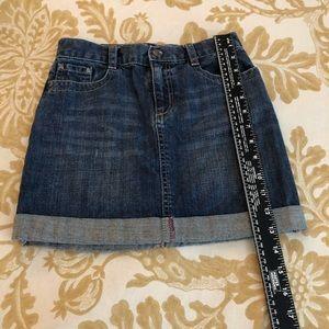Gymboree Bottoms - Gymboree Denim Skirt